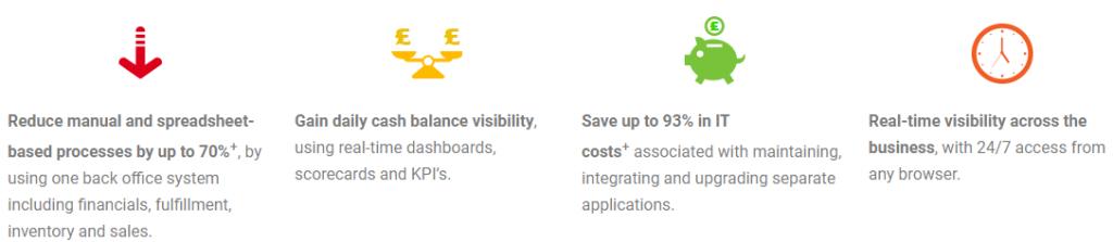 Netsuite ERP benefits